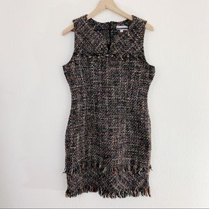 NWOT Nanette Lepore Tweed Dress Size 10